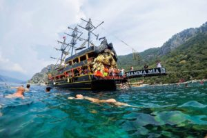 Marmaris All-inclusive boottochten blauwe cruise