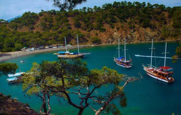 Piratenboottocht vanuit Marmaris Icmeler