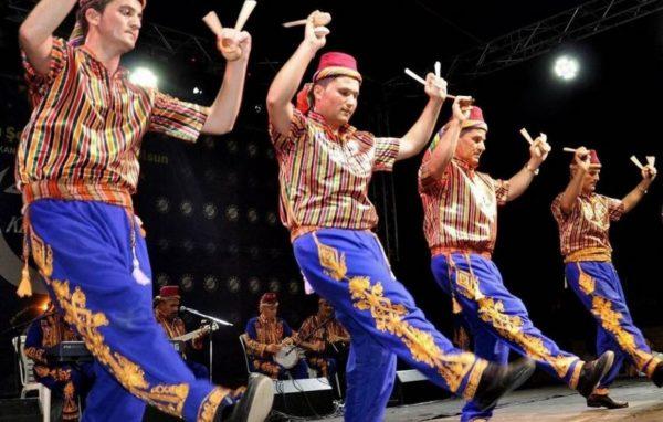 Marmaris icmeler Turkse Avond show