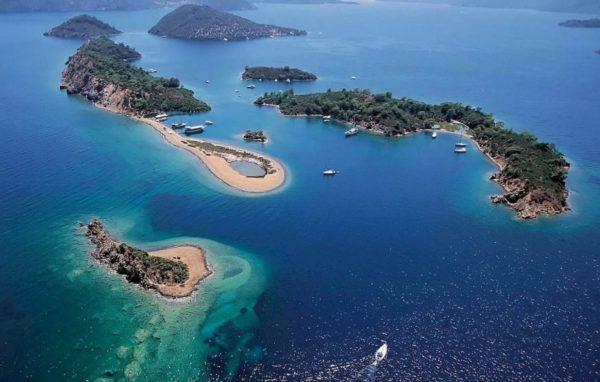 Marmaris Egeïsch eiland Boottocht