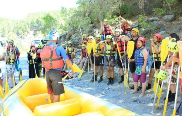 River Rafting Tour in Marmaris
